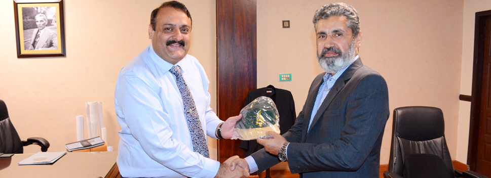 Project director NLC called on project director DHA